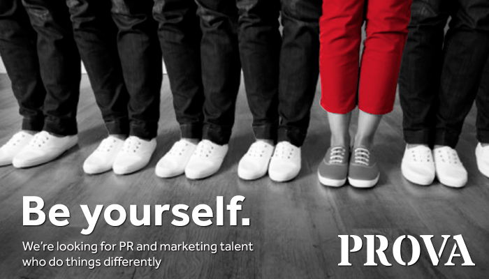 Want a career in PR? Get in touch 01926 77600